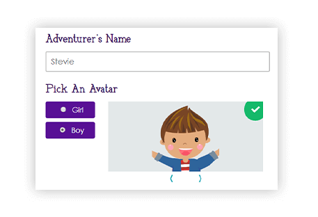 Passport customization with childs image and name