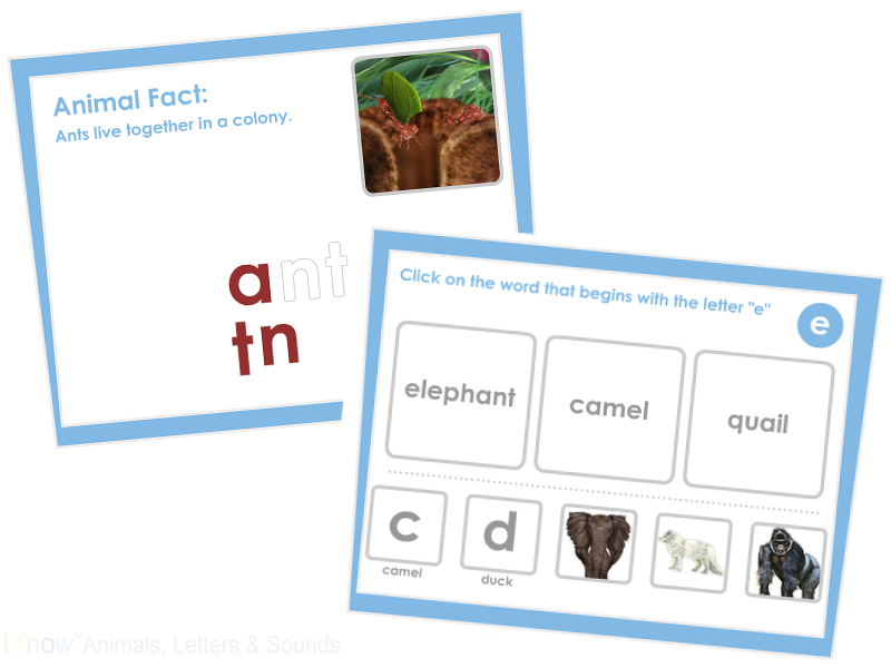 iKnow ABC Games and Activities