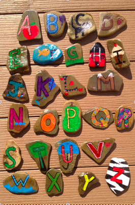 Teach the ABC's Using Nature {Craft Project}