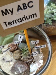 My ABC Terrarium Finished