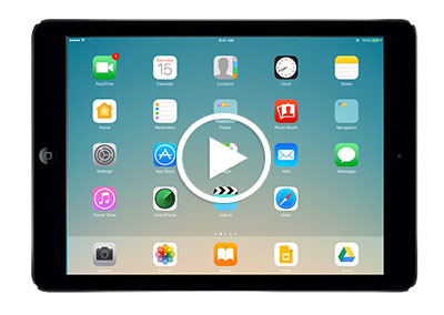 iPad Basics Video