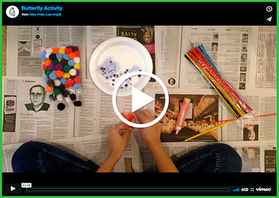 Butterfly Activity Video