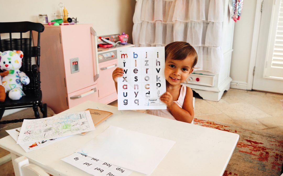 ABC Tracing for Toddlers